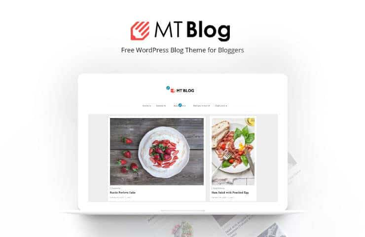 MT Blog WordPress blog theme