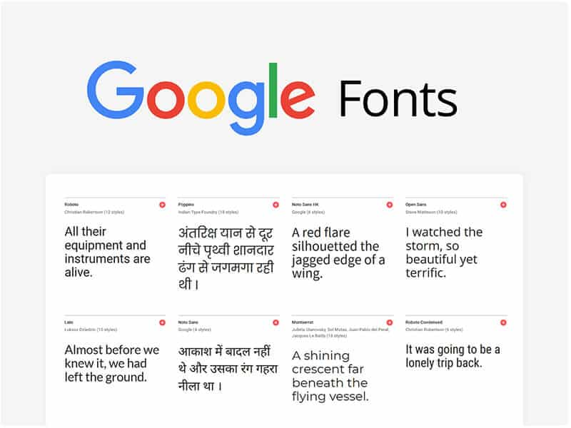 Free blogging theme Fonts