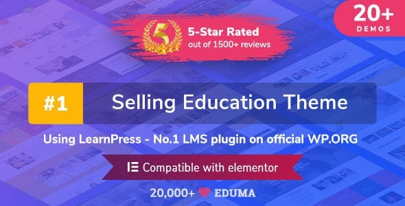 Eduma -  Education WordPress Theme