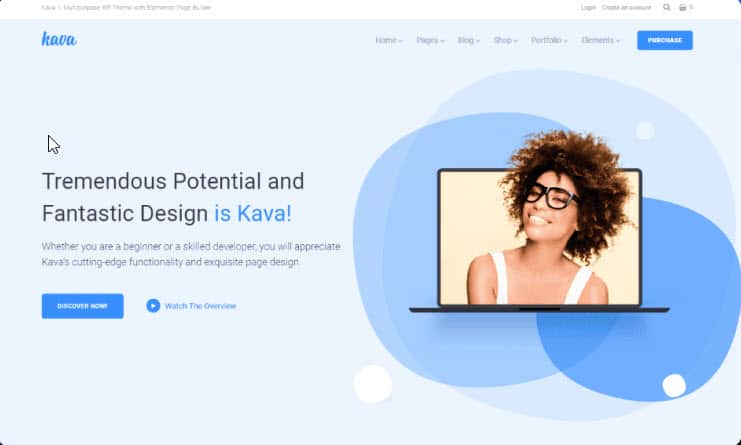 Kava WordPress Theme