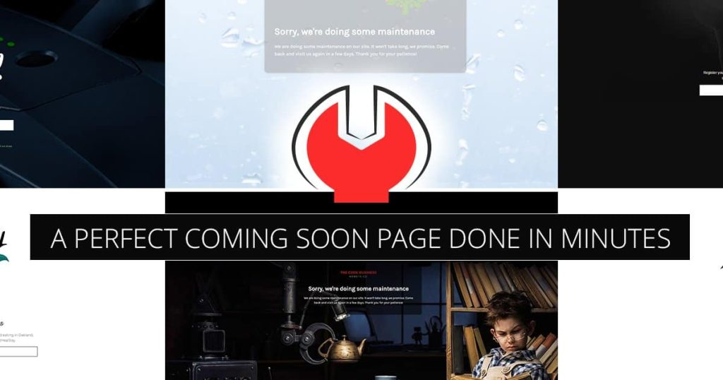 Coming Soon & Maintenance Mode WP Plugin