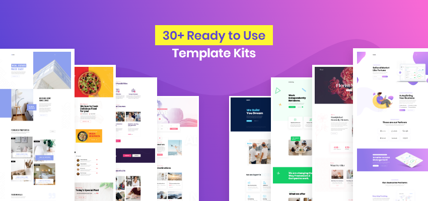 30+ Ready to Use Template Kits