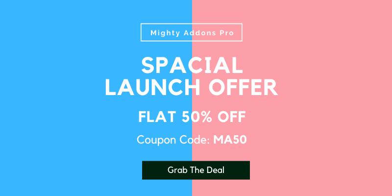 Mighty Addons Launch Offers