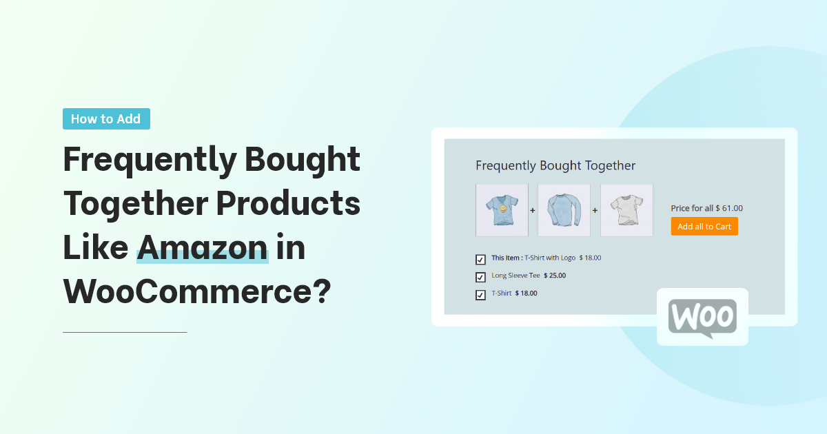 Add Frequently Bought Together Products