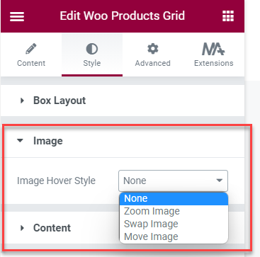 Woo Products Grid
